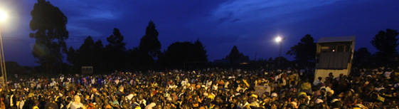 Gospel Celebration in Zeu, Uganda